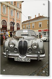 Old Jaguar Acrylic Print by Odon Czintos