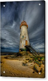 Old Lighthouse Acrylic Print by Adrian Evans
