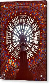 Old Louisiana State Capitol Dome Acrylic Print