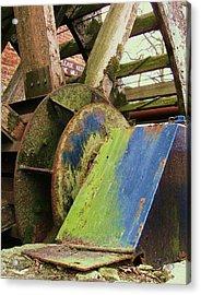 Old Mill Acrylic Print by Todd Sherlock
