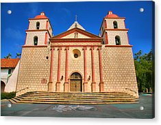 Old Mission Acrylic Print by Steven Ainsworth