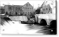 Old New England Mill Acrylic Print
