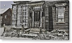 Old Old House Acrylic Print by Richard Balison