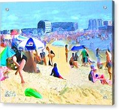 Old Orchard Beach Acrylic Print