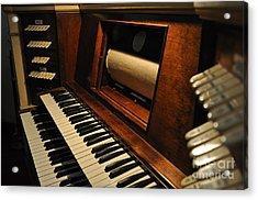 Old Organ  2 Acrylic Print