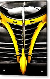 Old Plymouth Acrylic Print by Kenneth Mucke