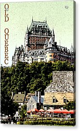 Old Quebec Acrylic Print by Linda  Parker