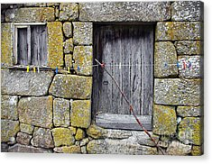 Old Rural House Acrylic Print by Carlos Caetano