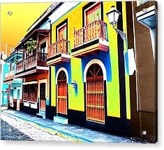 Old San Juan 10 Acrylic Print