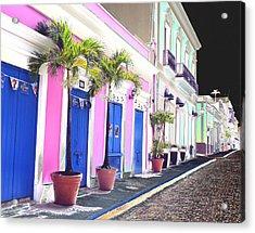 Old San Juan 6 Acrylic Print