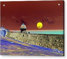 Old San Juan 8 Acrylic Print