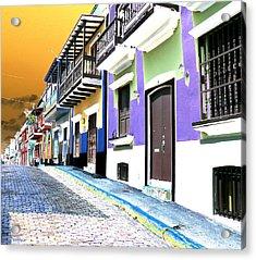 Old San Juan 9 Acrylic Print