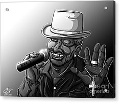 Old School Brother Acrylic Print by Tuan HollaBack