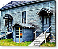 Old School Cheboygan Acrylic Print by MJ Olsen