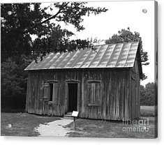 Acrylic Print featuring the photograph Old School by Yumi Johnson