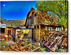 Old Shed Acrylic Print by Jon Berghoff