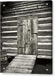 Old Shed Acrylic Print by Patrick M Lynch