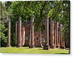 Old Sheldon Church Acrylic Print
