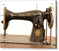 Old Singer 2 Acrylic Print