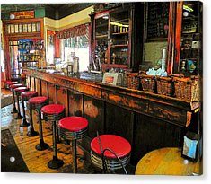 Old Soda Shoppe Acrylic Print by Joyce Kimble Smith
