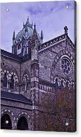 Old South Church Detail Acrylic Print