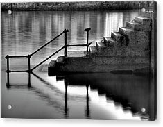 Old Stairway Acrylic Print by Ander Aguirre photography