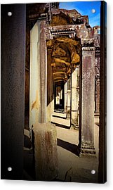 Acrylic Print featuring the photograph Old Temple by Arik S Mintorogo