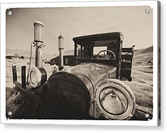 Old Time Picture Of A Truck Acrylic Print by George Oze