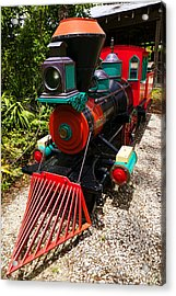 Old Time Train Acrylic Print by Garry Gay