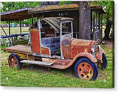 Old Timer Acrylic Print by Garry Gay