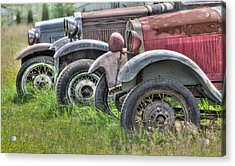 Old Timers Acrylic Print by Naman Imagery