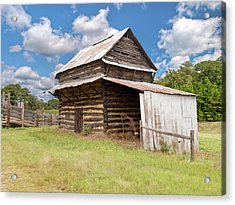 Old Tobacco Barn Acrylic Print