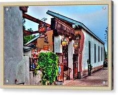 Old Town El Mercado Acrylic Print