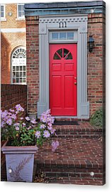 Old Town Entrance Acrylic Print by Steven Ainsworth