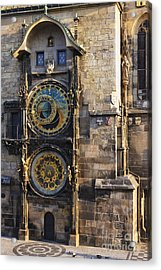 Old Town Hall Clock Acrylic Print by Jeremy Woodhouse