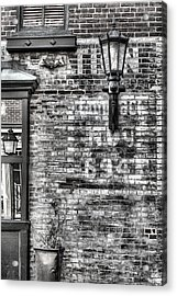 Old Town Acrylic Print by JC Findley