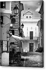 Acrylic Print featuring the photograph Old Town by Pedro Cardona