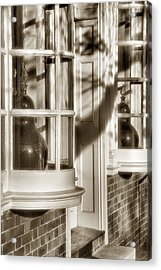 Old Town Windows Acrylic Print by Steven Ainsworth