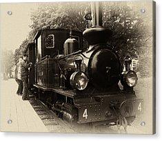 Old Train Sweden Acrylic Print