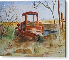 Old Trucks Never Die Acrylic Print
