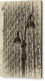 Acrylic Print featuring the photograph Old Tyme Ny by Vicki DeVico
