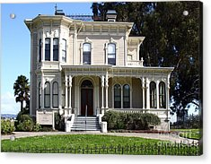 Old Victorian Camron-stanford House . Oakland California . 7d13440 Acrylic Print by Wingsdomain Art and Photography