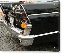 Old Volga Car Acrylic Print by Odon Czintos