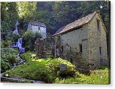 Old Watermill Acrylic Print by Joana Kruse