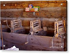 Acrylic Print featuring the photograph Old West 2 by Deniece Platt