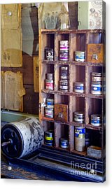 Acrylic Print featuring the photograph Old West 6 by Deniece Platt