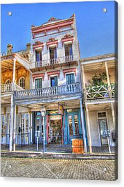 Old West Architecture Acrylic Print by Barry Jones