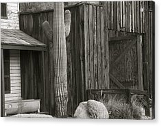 Old West Acrylic Print by Dietrich Sauer