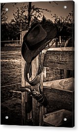 Old West Acrylic Print by Doug Long
