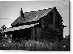 Old West Va Cabin Acrylic Print by Toma Caul